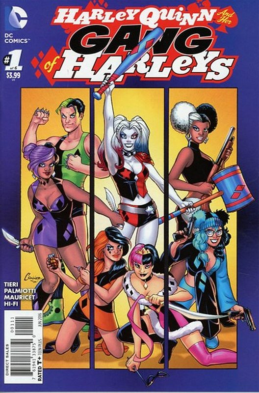 Cover of Harley Quinn & Her Gang of Harleys (2016 Ltd) #1. One of 250,000 Vintage American Comics on sale from Krypton!
