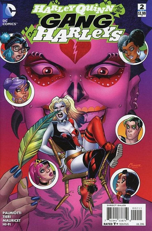 Cover of Harley Quinn & Her Gang of Harleys (2016 Ltd) #2. One of 250,000 Vintage American Comics on sale from Krypton!