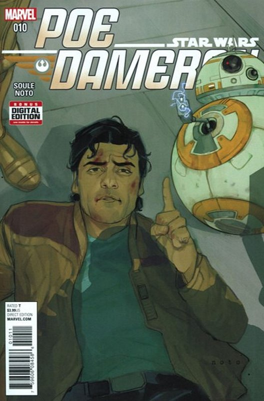 Cover of Star Wars: Poe Dameron #10. One of 250,000 Vintage American Comics on sale from Krypton!