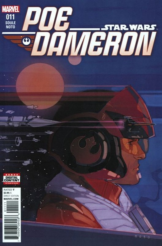 Cover of Star Wars: Poe Dameron #11. One of 250,000 Vintage American Comics on sale from Krypton!