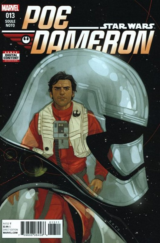 Cover of Star Wars: Poe Dameron #13. One of 250,000 Vintage American Comics on sale from Krypton!