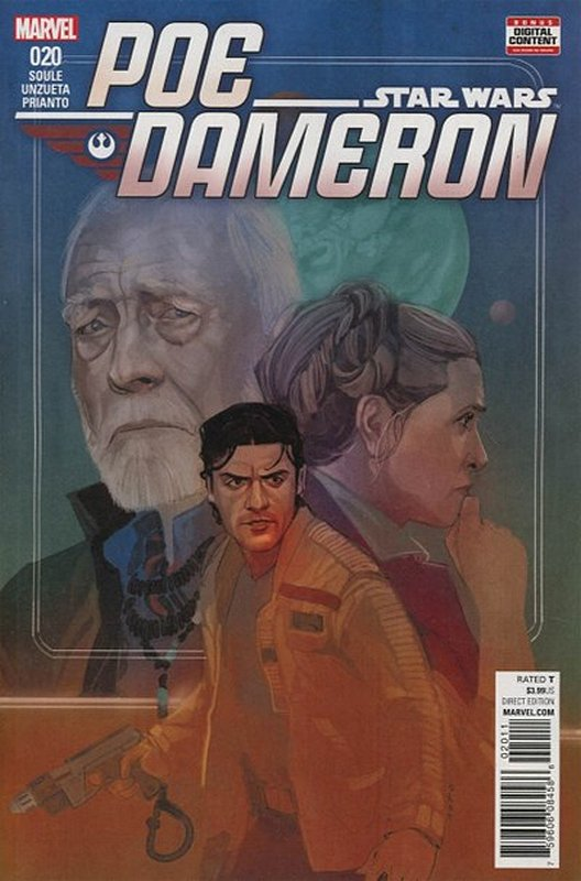Cover of Star Wars: Poe Dameron #20. One of 250,000 Vintage American Comics on sale from Krypton!