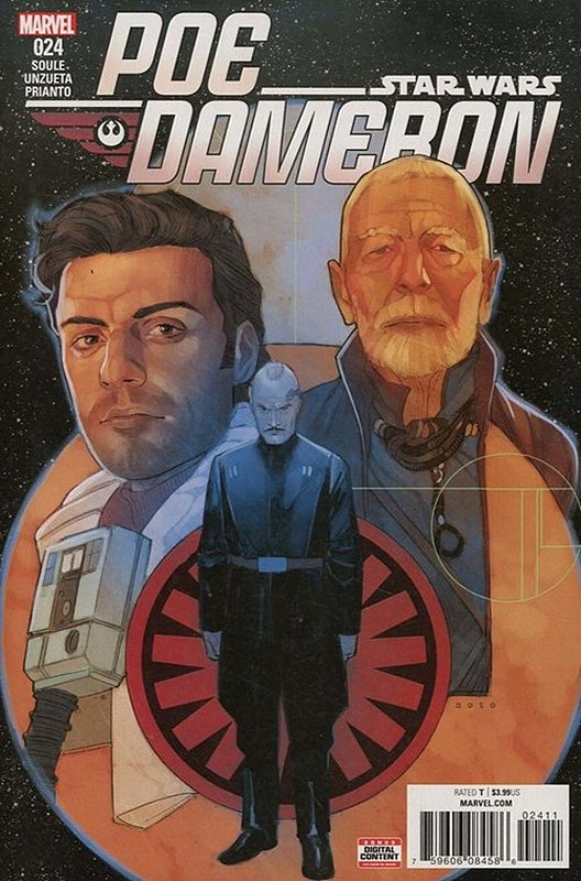 Cover of Star Wars: Poe Dameron #24. One of 250,000 Vintage American Comics on sale from Krypton!