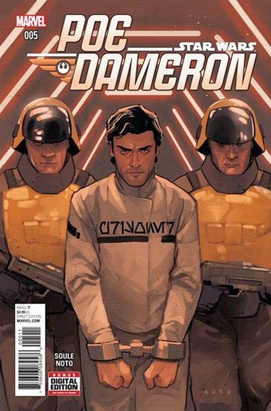 Cover of Star Wars: Poe Dameron #5. One of 250,000 Vintage American Comics on sale from Krypton!