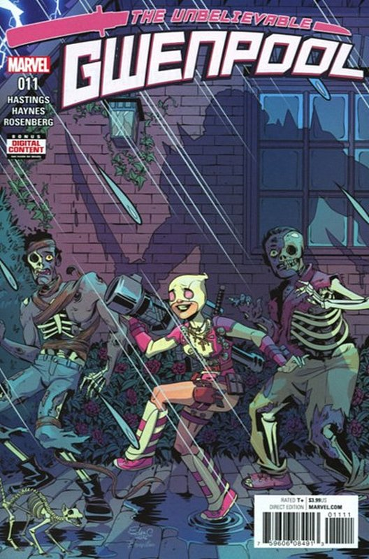 Cover of Gwenpool (Vol 1) #11. One of 250,000 Vintage American Comics on sale from Krypton!