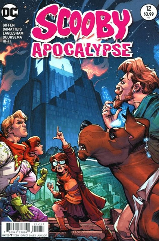 Cover of Scooby Apocalypse (Vol 1) #12. One of 250,000 Vintage American Comics on sale from Krypton!