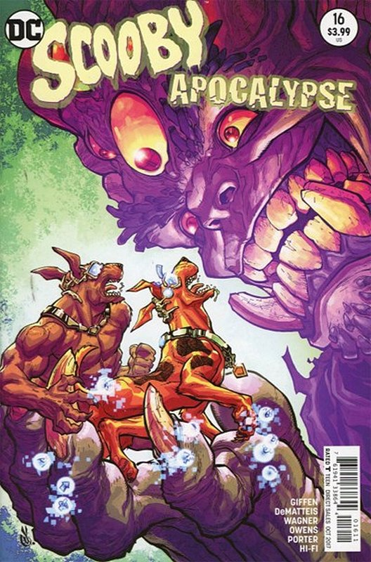 Cover of Scooby Apocalypse (Vol 1) #16. One of 250,000 Vintage American Comics on sale from Krypton!