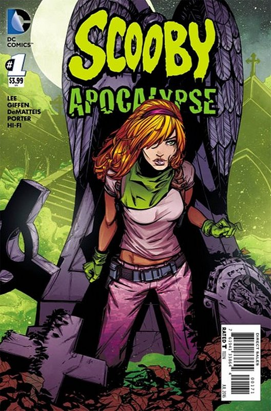 Cover of Scooby Apocalypse (Vol 1) #1. One of 250,000 Vintage American Comics on sale from Krypton!
