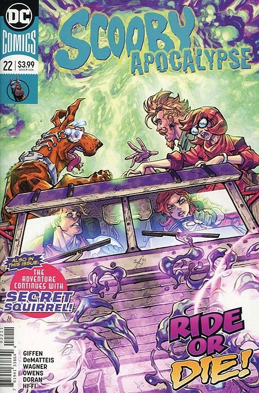 Cover of Scooby Apocalypse (Vol 1) #22. One of 250,000 Vintage American Comics on sale from Krypton!