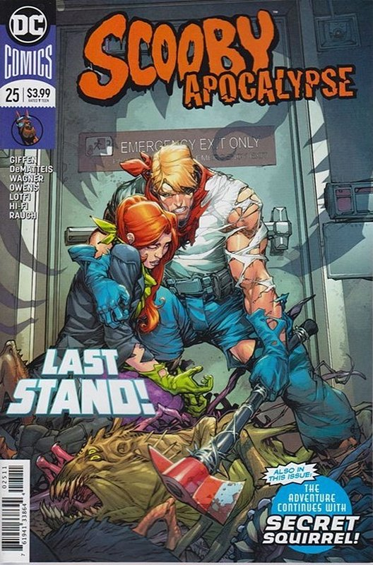 Cover of Scooby Apocalypse (Vol 1) #25. One of 250,000 Vintage American Comics on sale from Krypton!