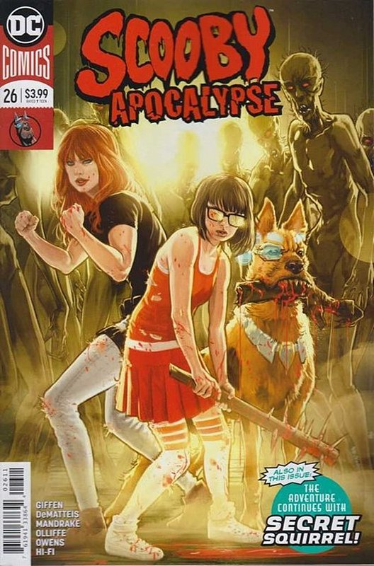 Cover of Scooby Apocalypse (Vol 1) #26. One of 250,000 Vintage American Comics on sale from Krypton!