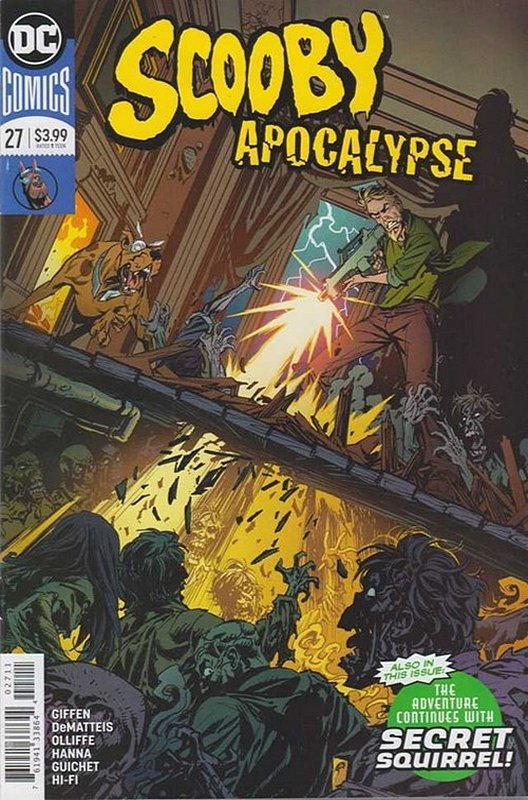 Cover of Scooby Apocalypse (Vol 1) #27. One of 250,000 Vintage American Comics on sale from Krypton!