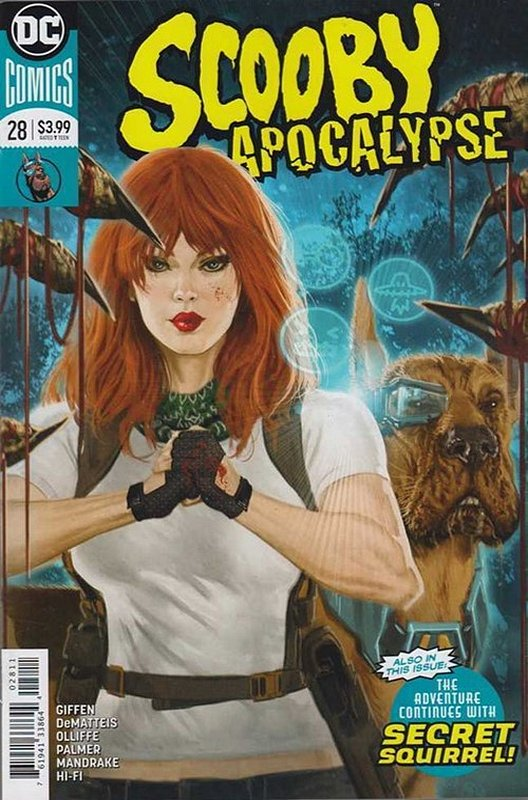 Cover of Scooby Apocalypse (Vol 1) #28. One of 250,000 Vintage American Comics on sale from Krypton!
