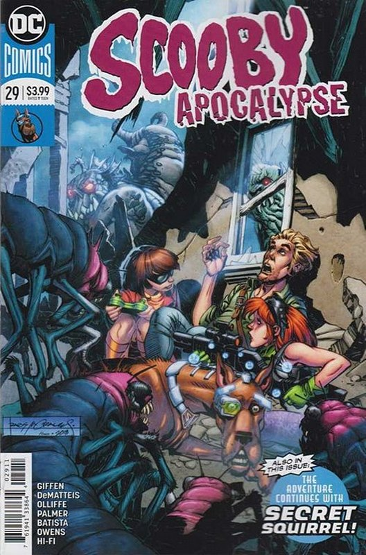 Cover of Scooby Apocalypse (Vol 1) #29. One of 250,000 Vintage American Comics on sale from Krypton!