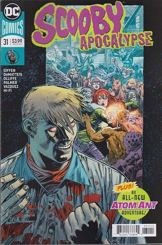 Cover of Scooby Apocalypse (Vol 1) #31. One of 250,000 Vintage American Comics on sale from Krypton!
