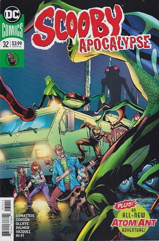 Cover of Scooby Apocalypse (Vol 1) #32. One of 250,000 Vintage American Comics on sale from Krypton!