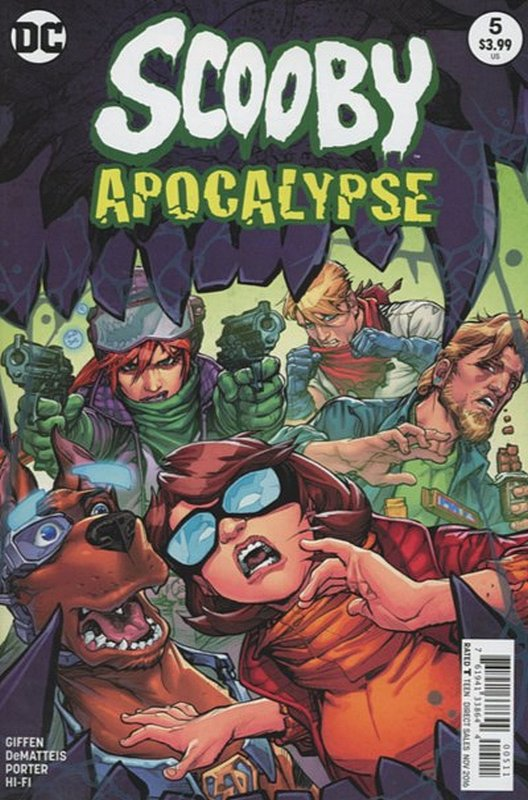 Cover of Scooby Apocalypse (Vol 1) #5. One of 250,000 Vintage American Comics on sale from Krypton!