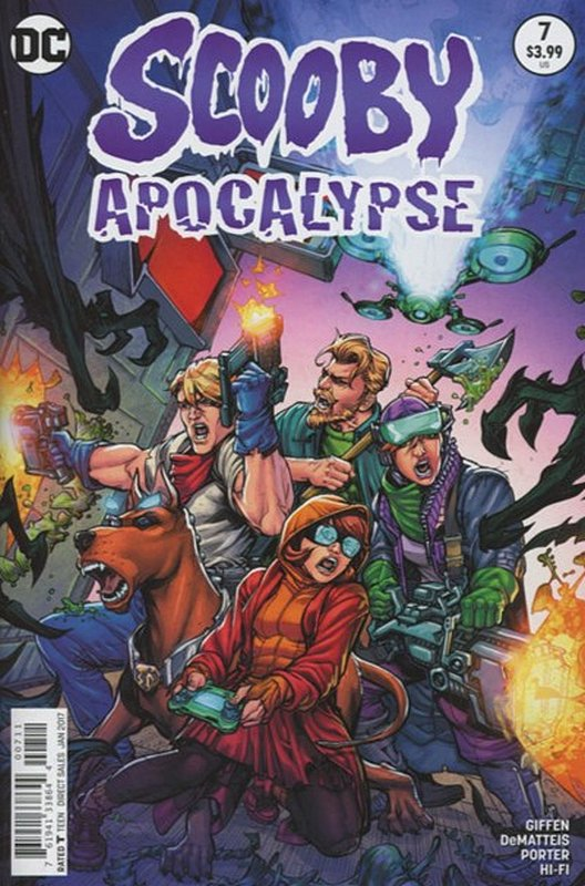 Cover of Scooby Apocalypse (Vol 1) #7. One of 250,000 Vintage American Comics on sale from Krypton!