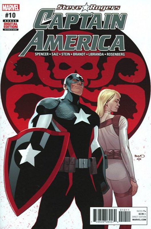 Cover of Captain America, Steve Rogers (Vol 1) #10. One of 250,000 Vintage American Comics on sale from Krypton!