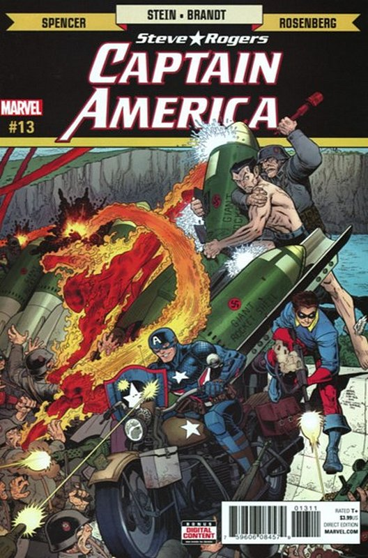 Cover of Captain America, Steve Rogers (Vol 1) #13. One of 250,000 Vintage American Comics on sale from Krypton!