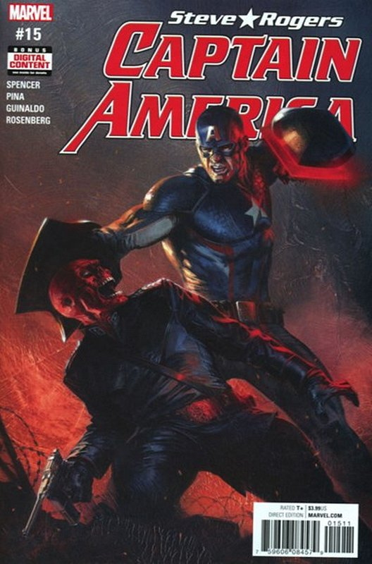 Cover of Captain America, Steve Rogers (Vol 1) #15. One of 250,000 Vintage American Comics on sale from Krypton!