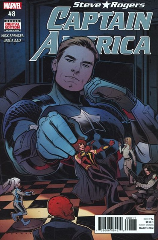 Cover of Captain America, Steve Rogers (Vol 1) #8. One of 250,000 Vintage American Comics on sale from Krypton!