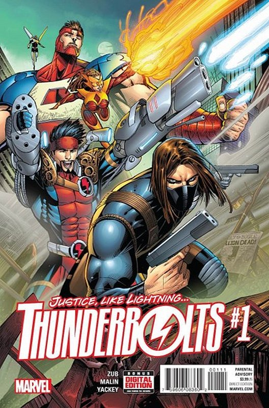 Cover of Thunderbolts (Vol 4) #1. One of 250,000 Vintage American Comics on sale from Krypton!