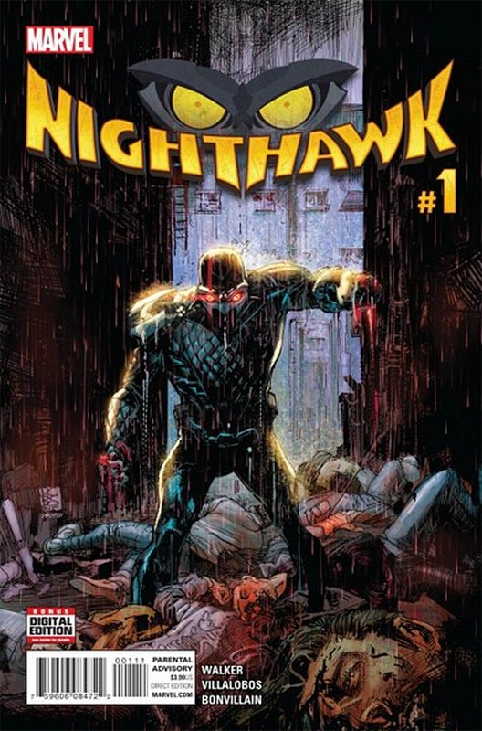 Cover of Nighthawk (Vol 1) #1. One of 250,000 Vintage American Comics on sale from Krypton!