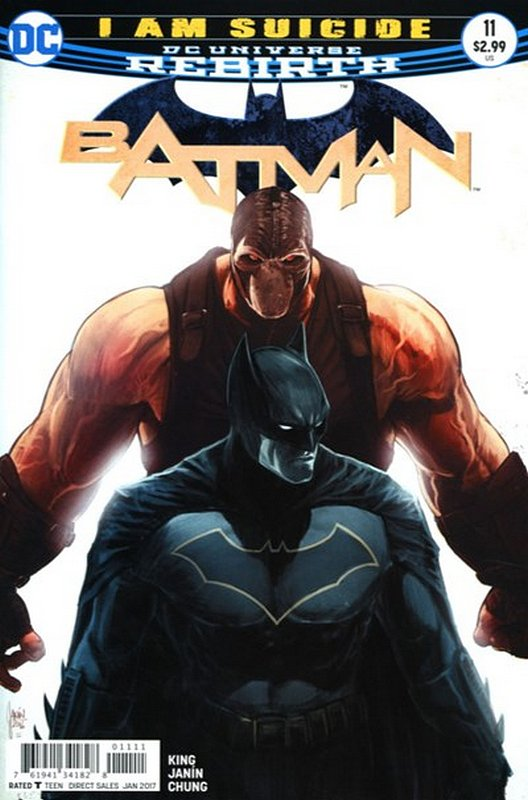 Cover of Batman (Vol 3) #11. One of 250,000 Vintage American Comics on sale from Krypton!