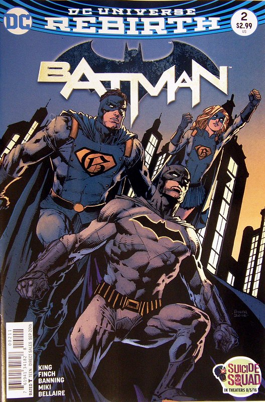 Cover of Batman (Vol 3) #2. One of 250,000 Vintage American Comics on sale from Krypton!