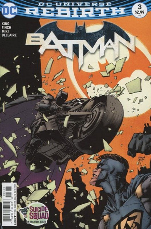Cover of Batman (Vol 3) #3. One of 250,000 Vintage American Comics on sale from Krypton!