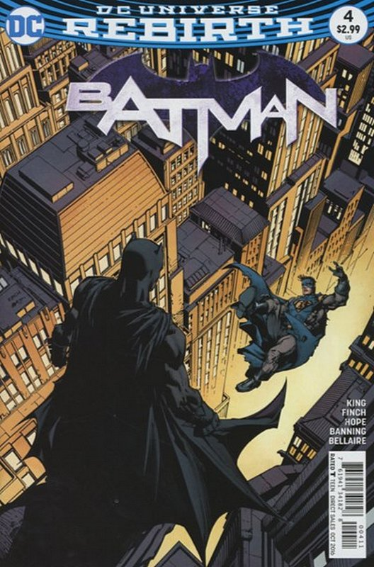 Cover of Batman (Vol 3) #4. One of 250,000 Vintage American Comics on sale from Krypton!