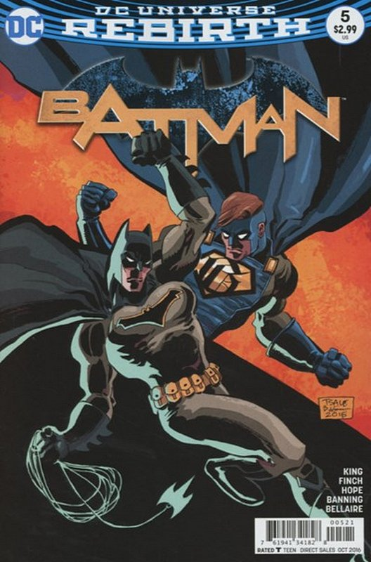 Cover of Batman (Vol 3) #5. One of 250,000 Vintage American Comics on sale from Krypton!