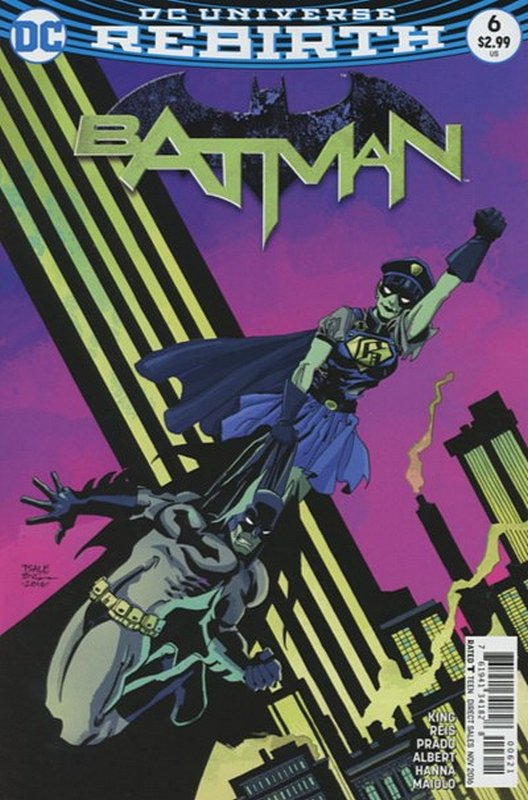 Cover of Batman (Vol 3) #6. One of 250,000 Vintage American Comics on sale from Krypton!