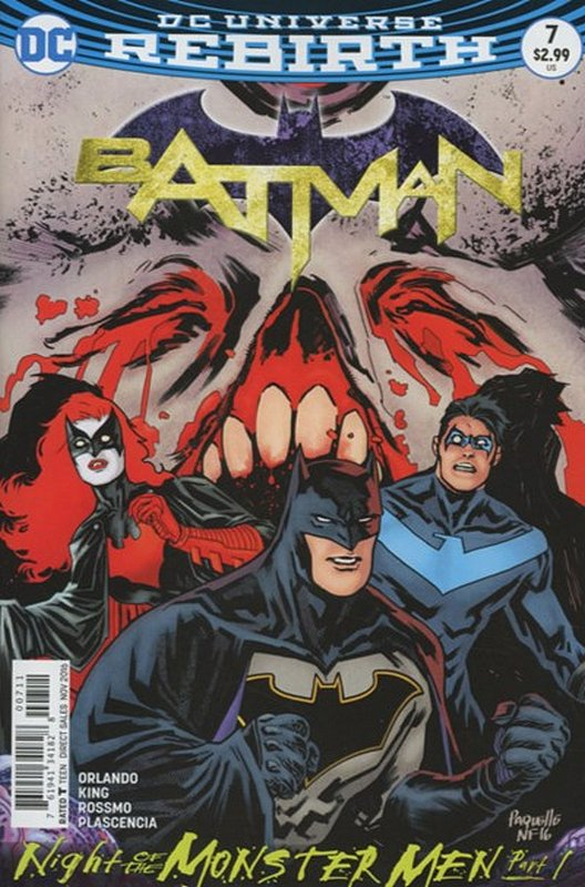 Cover of Batman (Vol 3) #7. One of 250,000 Vintage American Comics on sale from Krypton!