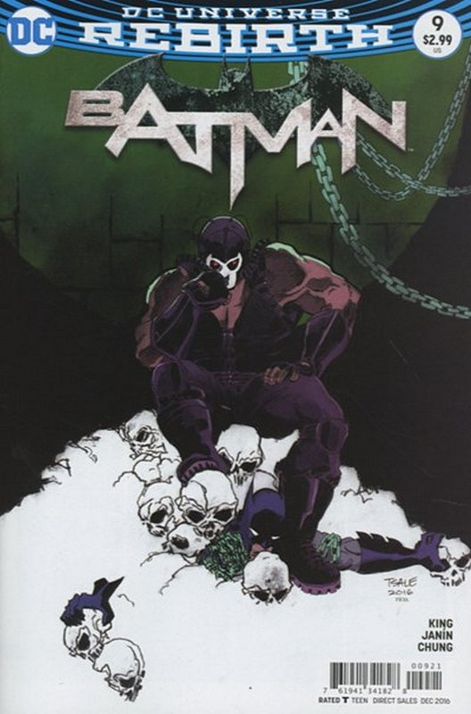 Cover of Batman (Vol 3) #9. One of 250,000 Vintage American Comics on sale from Krypton!