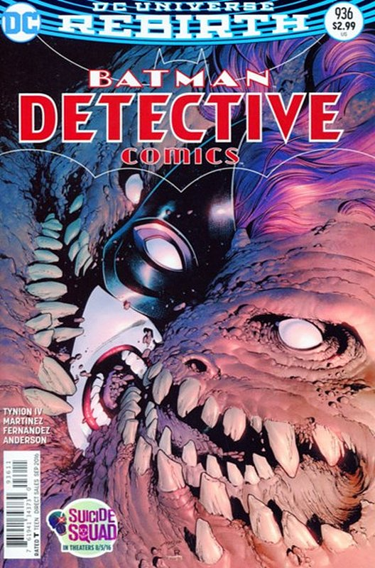 Cover of Detective Comics (Vol 3) #936. One of 250,000 Vintage American Comics on sale from Krypton!
