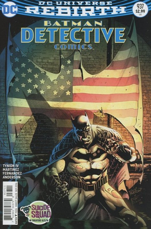 Cover of Detective Comics (Vol 3) #937. One of 250,000 Vintage American Comics on sale from Krypton!
