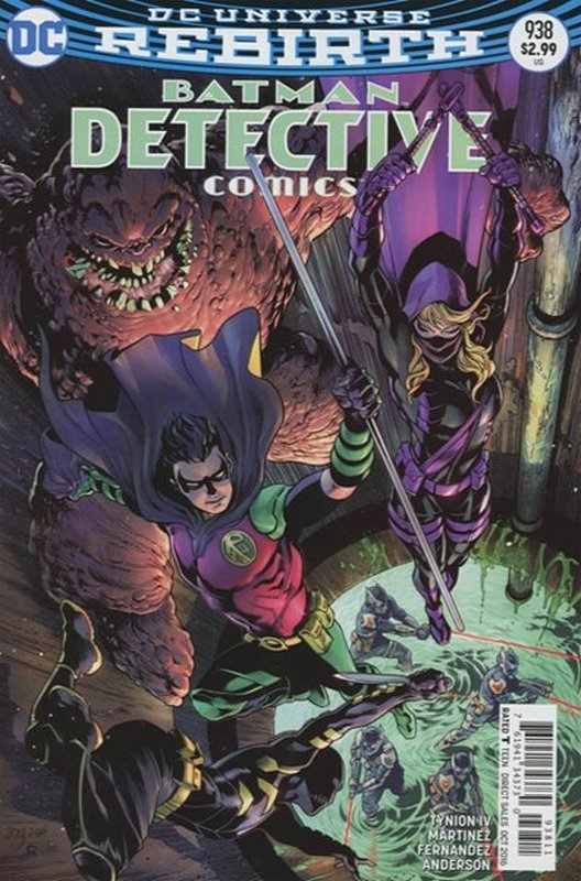 Cover of Detective Comics (Vol 3) #938. One of 250,000 Vintage American Comics on sale from Krypton!