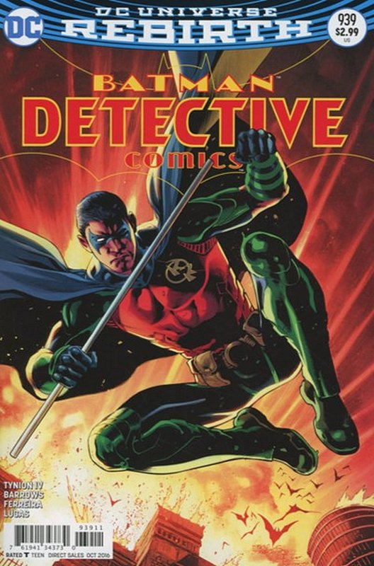 Cover of Detective Comics (Vol 3) #939. One of 250,000 Vintage American Comics on sale from Krypton!