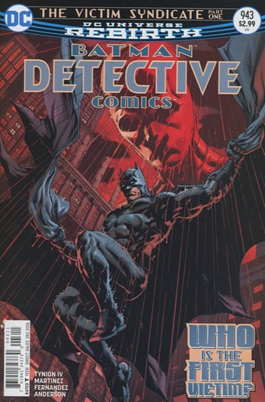 Cover of Detective Comics (Vol 3) #943. One of 250,000 Vintage American Comics on sale from Krypton!