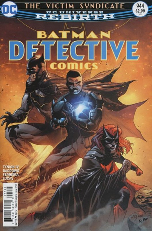 Cover of Detective Comics (Vol 3) #944. One of 250,000 Vintage American Comics on sale from Krypton!