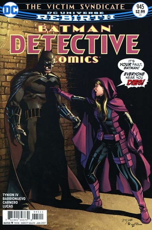 Cover of Detective Comics (Vol 3) #945. One of 250,000 Vintage American Comics on sale from Krypton!
