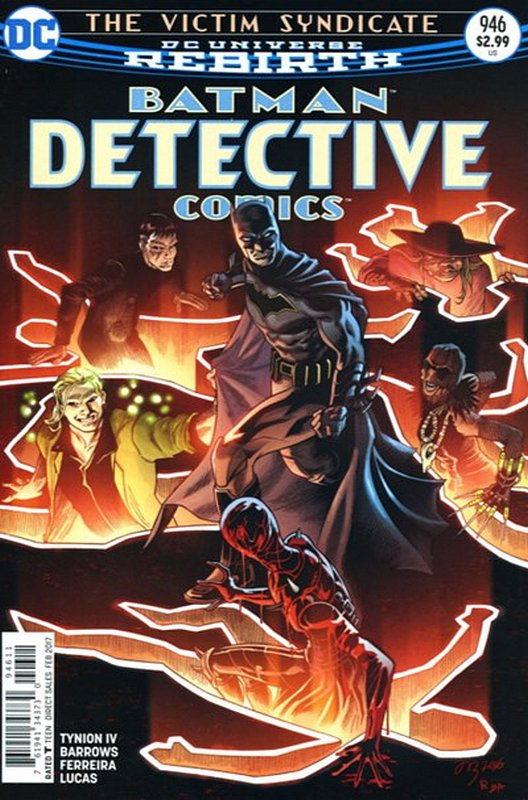 Cover of Detective Comics (Vol 3) #946. One of 250,000 Vintage American Comics on sale from Krypton!