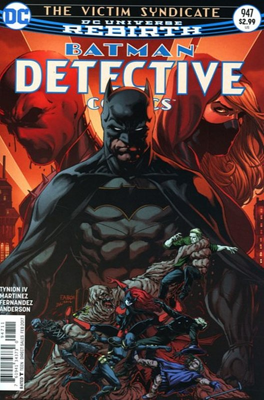 Cover of Detective Comics (Vol 3) #947. One of 250,000 Vintage American Comics on sale from Krypton!