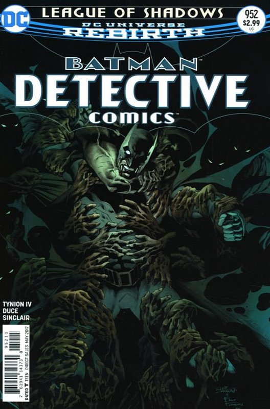 Cover of Detective Comics (Vol 3) #952. One of 250,000 Vintage American Comics on sale from Krypton!