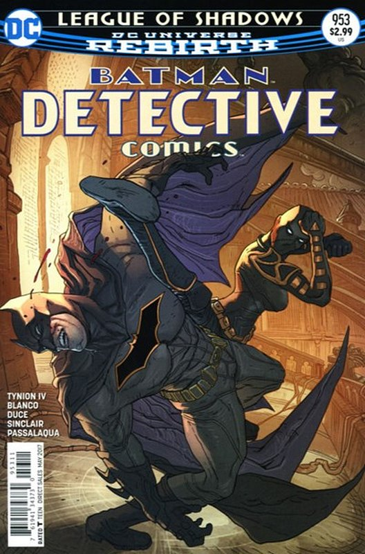 Cover of Detective Comics (Vol 3) #953. One of 250,000 Vintage American Comics on sale from Krypton!