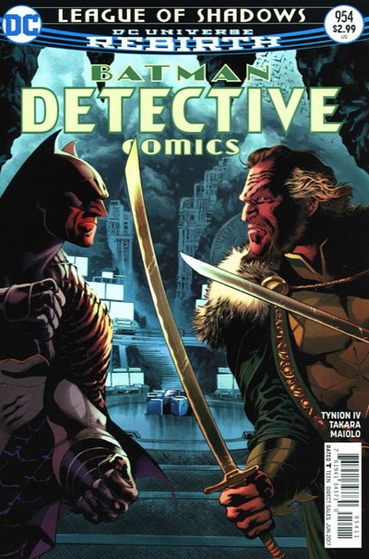 Cover of Detective Comics (Vol 3) #954. One of 250,000 Vintage American Comics on sale from Krypton!