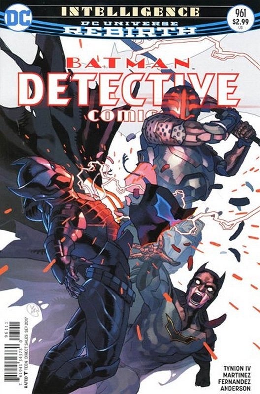 Cover of Detective Comics (Vol 3) #961. One of 250,000 Vintage American Comics on sale from Krypton!