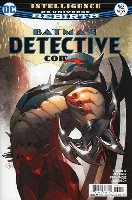 Cover of Detective Comics (Vol 3) #962. One of 250,000 Vintage American Comics on sale from Krypton!